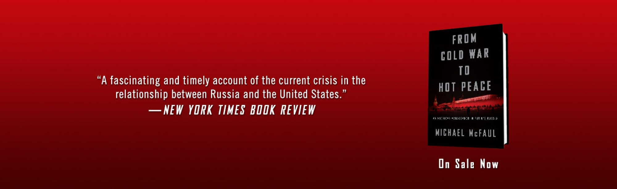 McFaul Book Banner