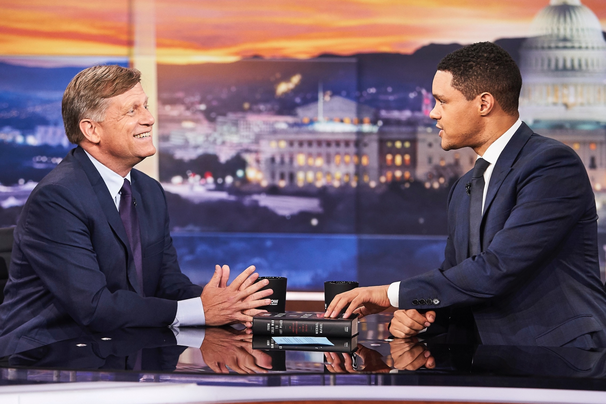 "Presenting ""From Cold War to Hot Peace"" at The Daily Show with Trevor Noah"